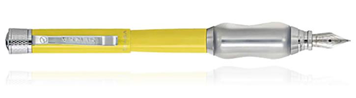 Canary Yellow Sensa Classic Collection Fountain Pens