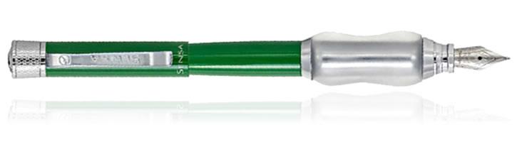 Spring Green Sensa Classic Collection Fountain Pens