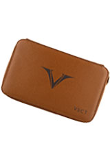Visconti Twelve Pen Carrying Cases in Cognac
