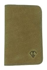 Desert Blue Dee Charles Designs Leather Notebook Cover for Memo & Notebooks