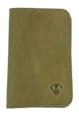 Desert Green Dee Charles Designs Leather Notebook Cover for Memo & Notebooks