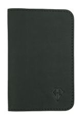 Midnight Black Dee Charles Designs Leather Notebook Cover for Memo & Notebooks