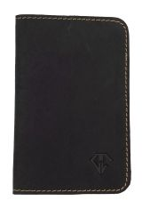 Midnight Gold Dee Charles Designs Leather Notebook Cover for Memo & Notebooks