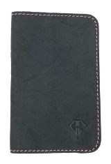Midnight Pink Dee Charles Designs Leather Notebook Cover for Memo & Notebooks