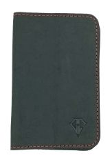 Midnight Red Dee Charles Designs Leather Notebook Cover for Memo & Notebooks
