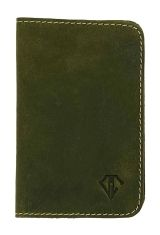 Olive Gold Dee Charles Designs Leather Notebook Cover for Memo & Notebooks