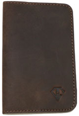 Rawhide Brown Dee Charles Designs Leather Notebook Cover for Memo & Notebooks