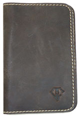 Rawhide Gold Dee Charles Designs Leather Notebook Cover for Memo & Notebooks