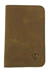 Saddle Black Dee Charles Designs Leather Notebook Cover for Memo & Notebooks