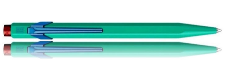 Caran d'Ache 849 Claim Your Style Edition II Ballpoint Pens in Veronese Green