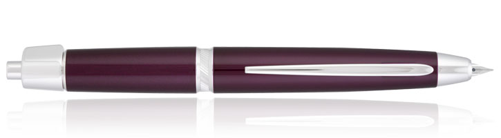 Pilot Vanishing Point LS Fountain Pens in Burgundy