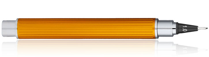 Yookers Eros Fiber Rollerball Pens in Yellow Lacquer 1.2