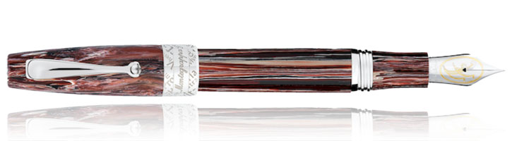 Montegrappa Extra Verses Limited Edition Fountain Pens in Vinum Atrum
