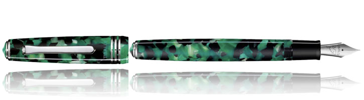 Tibaldi N60 Fountain Pens in Emerald Green