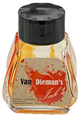 Van Dieman's Ink Ink Empty Ink Bottles