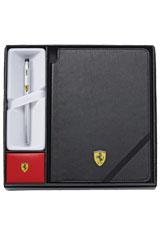 Cross Century II Scuderia Ferrari Notebook with  Rollerball Pens