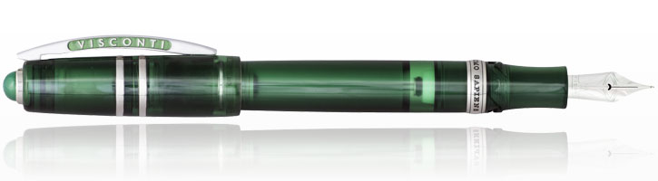 Visconti Homo Sapiens Demo Stones Fountain Pens in Emerald
