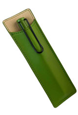 Lamy Safari Special Edition Leather Pouch  in Savannah Green