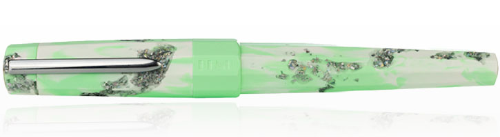 Benu Limited Edition Spring Euphoria Fountain Pens in Spring Leaf