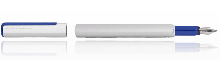 Blue / Silver Pininfarina PF ONE Fountain Pens