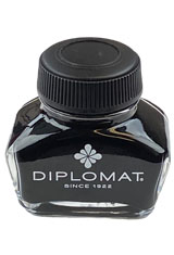 Black Diplomat 30 ml Fountain Pen Ink