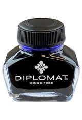 Blue Diplomat 30 ml Fountain Pen Ink