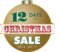 Pen Chalet's 12 Days of Christmas Sale
